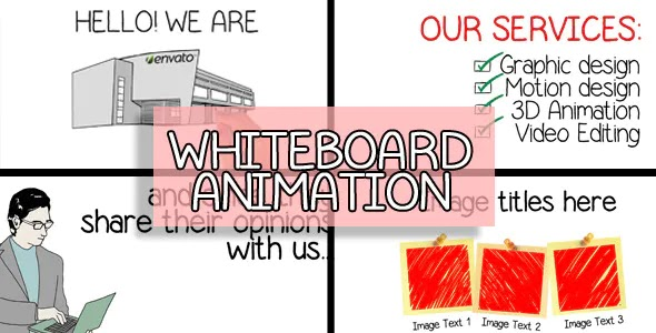 Videohive Whiteboard Animated Company Presentation 4120250