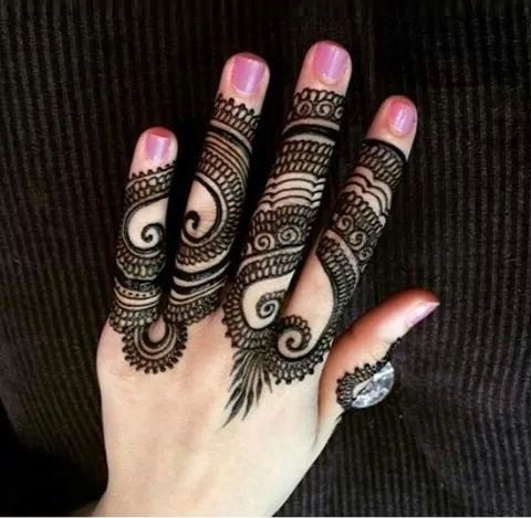 Brilliant 100 Easy And Simple Mehndi Designs With Images Piercings Models