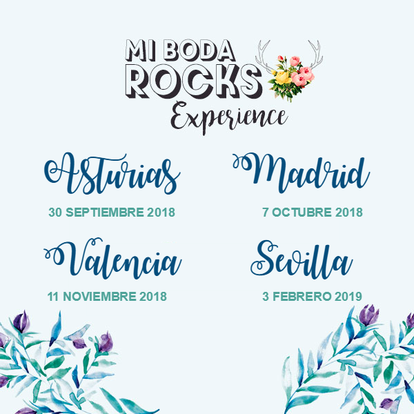 showroom nupcial Mi Boda Rocks Experience 2018 2019