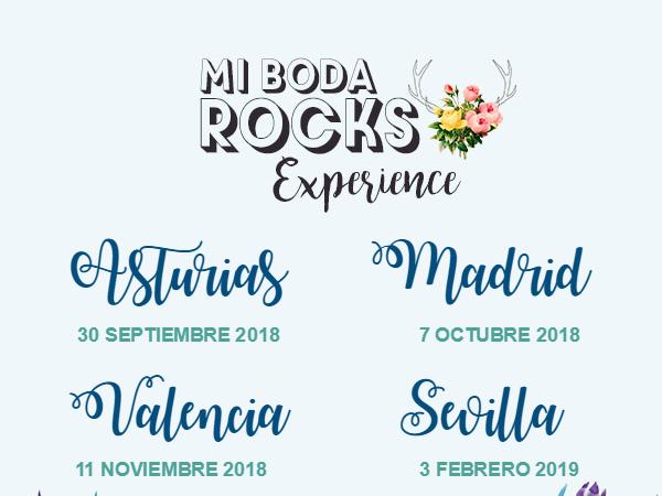 ¡Nuevas ediciones de Mi Boda Rocks Experience!
