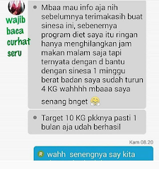 Testimoni Hasil Memakai Sinensa Beauty Slim Herbal