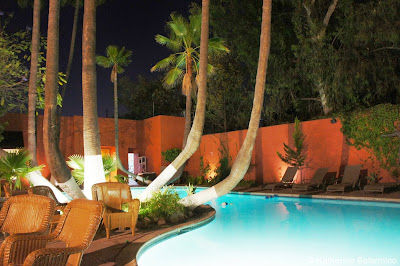 Hotel Palacio Azteca Pool Tijuana