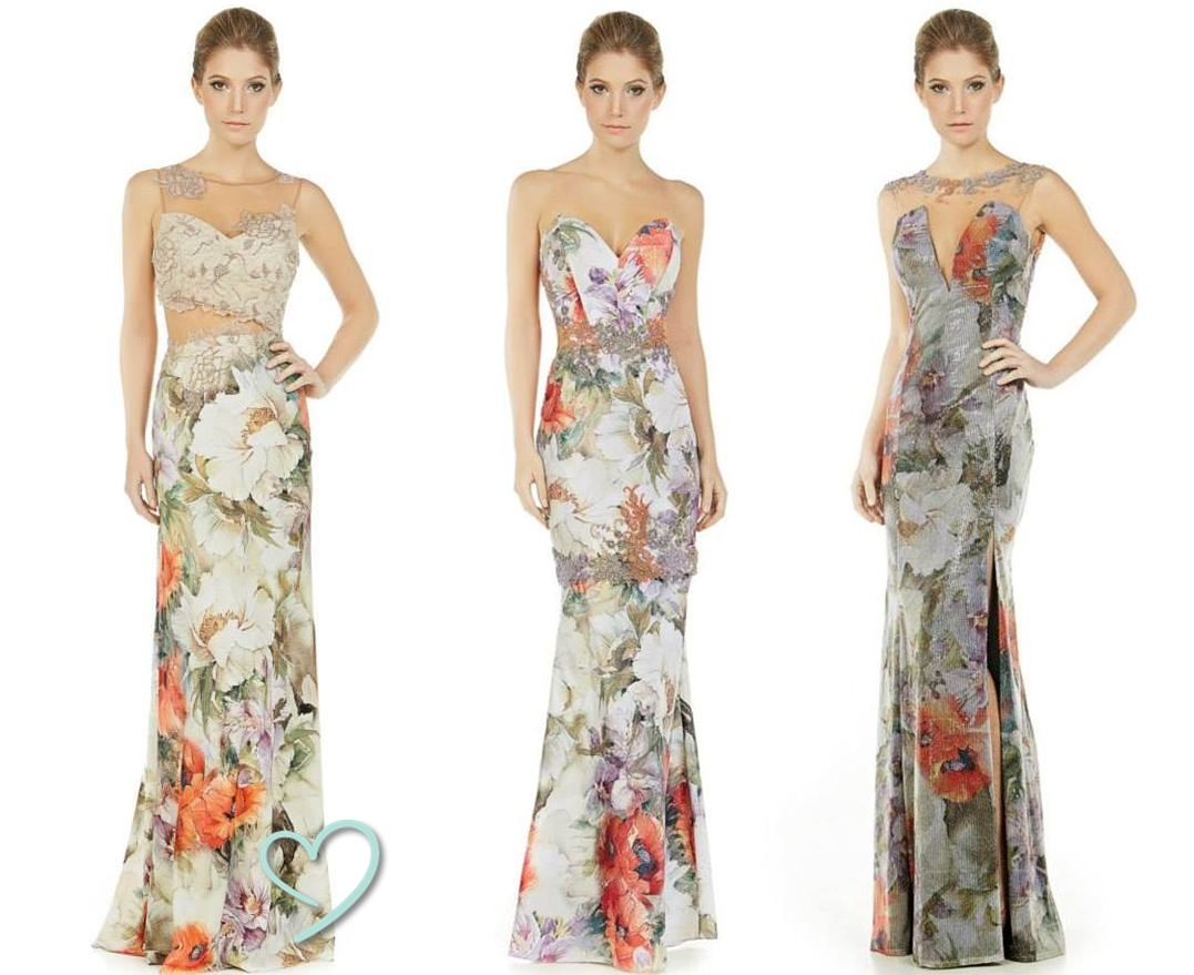 d6c6d581e O primeiro vestido é lindo com recortes estratégicos que garantiram  bastante sofisticação ao vestido e o segundo vestido parece ser daqueles  que tem a opção ...