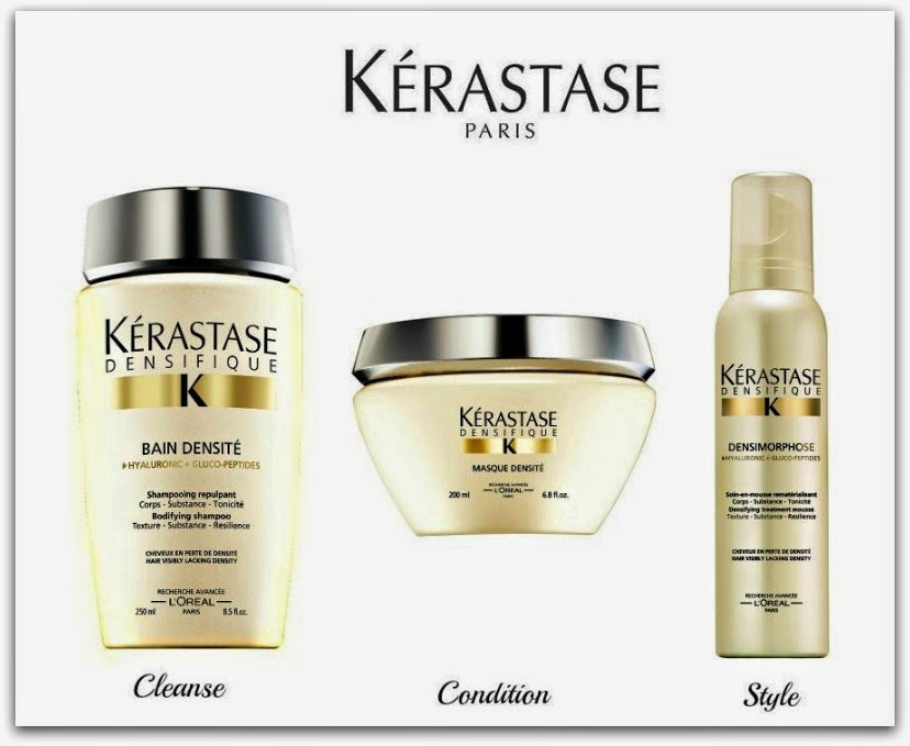 The Makeup Examiner  Kerastase Paris Densifique Collection Preview 9bb3c822642