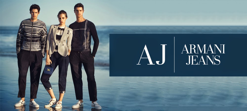 670268ee59f1d ARMANI JEANS - new collection spring/summer 2015
