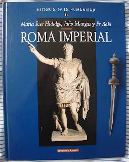 Roma imperial, de María José Hidalgo, Julio Mangas y Fe Bajo