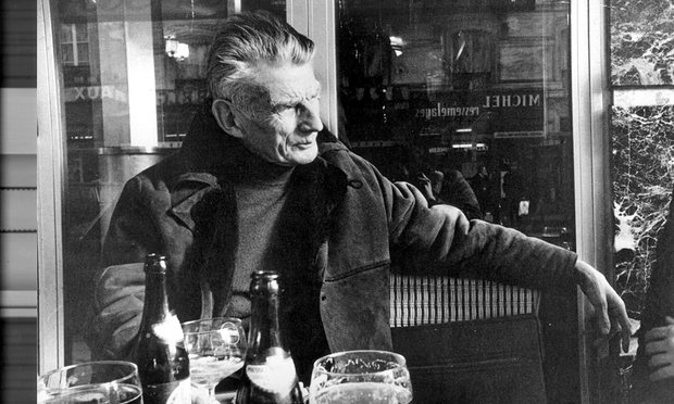 Shot of Samuel Beckett from a review in the Guardian.com