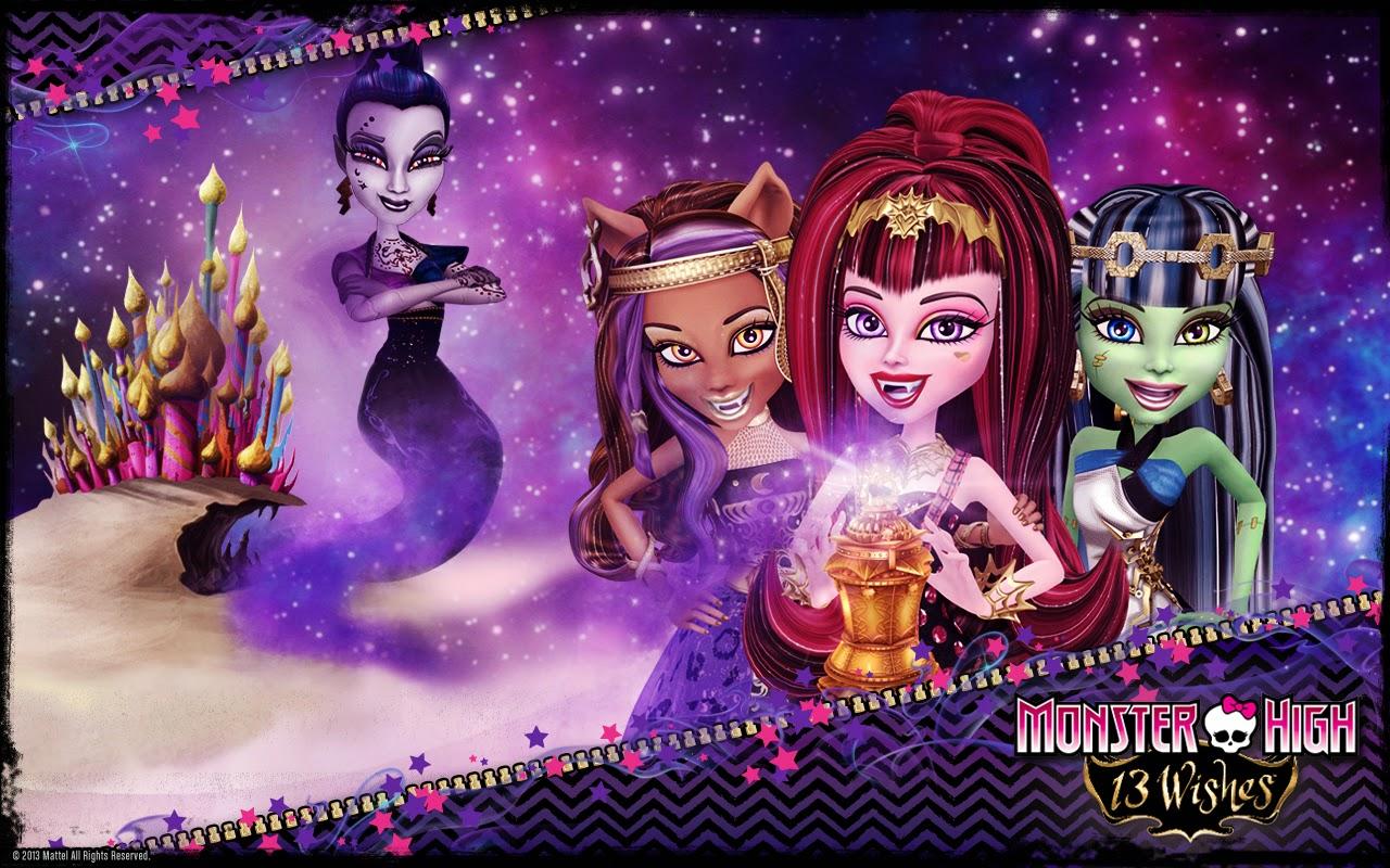 Fondos De Pantalla De Monster High: Fondos De Pantalla De Monster High 13 Deseos