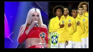 CBF convida Pabllo Vittar para cantar o hino na estreia do Brasil na Copa.