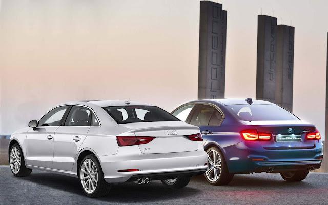Audi A3 Sedan x BMW Série 3