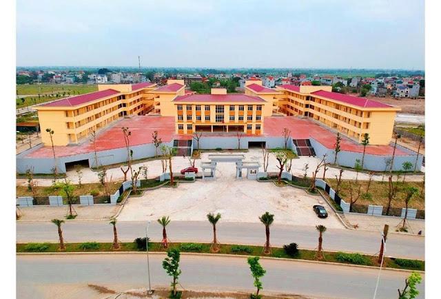 Trường liên cấp 1 -cấp 2 dự án thanh hà cienco 5 Mường Thanh