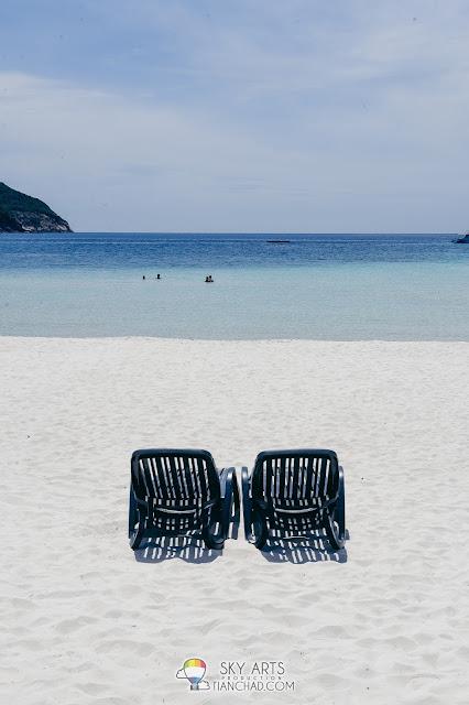 The Taaras Beach & Spa Resort in Pulau Redang beautiful view and scenery
