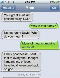 Funny Mom/Dad SMS/Texts