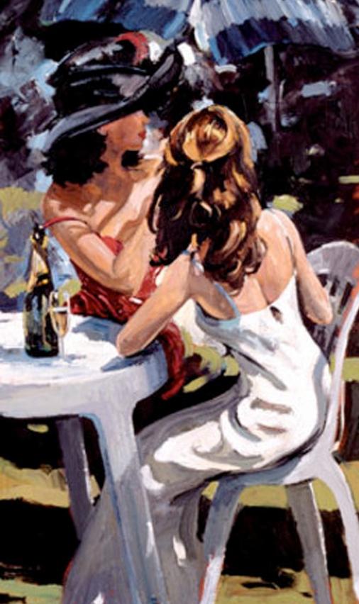 British impressionist Artist | Sherree Valentine-Daines | 1956