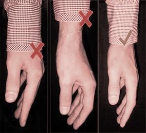 Gömleğin kol uzunluğu testi