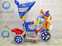 Sepeda Roda Tiga Family F993DT Lebah Blue