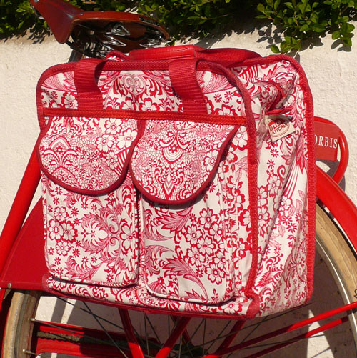 The Bicycle Muse Kitsch Kitchen Pannier Bags
