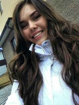 Selfie Foto von der Ukrainerin Anastasie