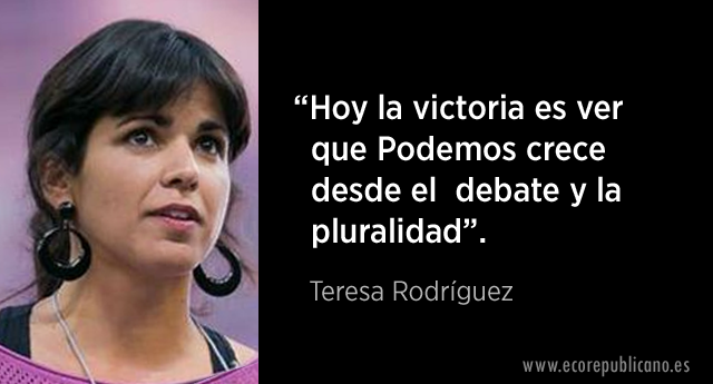 Teresa Rodríguez, reelegida secretaria general de Podemos Andalucía con un respaldo del 75,
