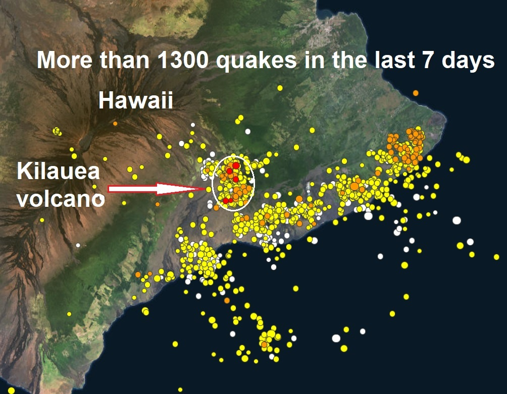 NEW UPDATES - Action resumes in Hawaii - Fissure #18  Naamloos