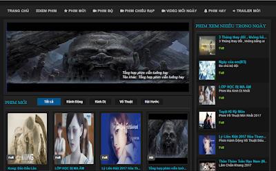 template web phim blogspot