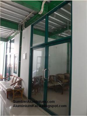 Pintu Swing Aluminium Al Iman