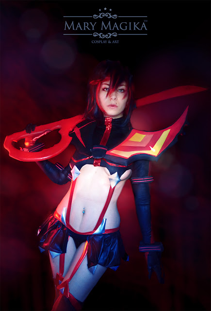 ryuko matoi cosplay by mary magika
