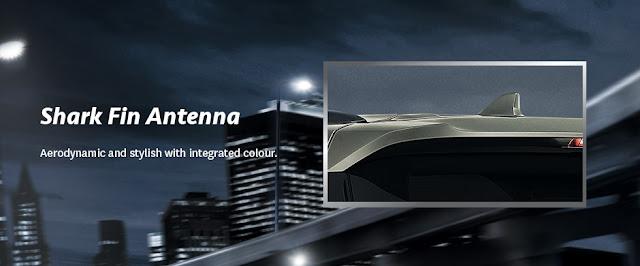 Antena Sirip Hiu New Toyota Fortuner
