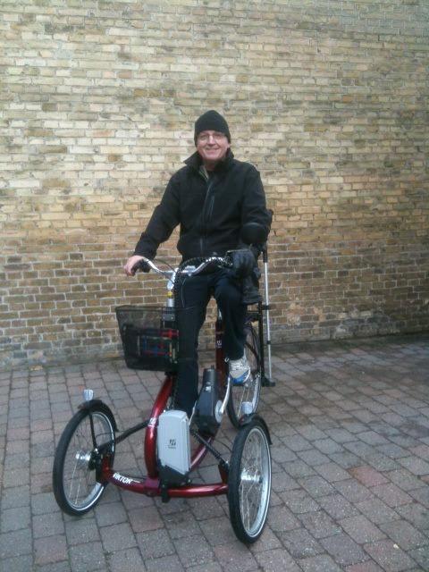 Maj 2012: Erfaring med 3 hjulet Viktor Power el cykel | Henning Paaske Jensen