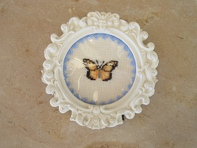 mariposa, butterfly, papillon, punto cruz, cross stitch, point croix, bordado