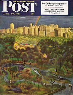 Portada Saturday Evening Post con su artículo sobre OVNIS de 1949
