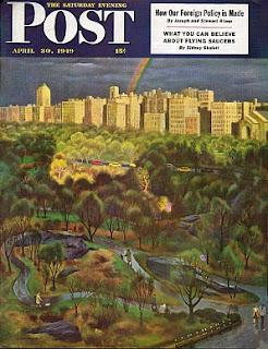 Portada Saturday Evening Post con su artículo sobre OVNIS de 1949