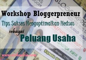 bloggerpreneur, tips sukses mengoptimalkan medsos
