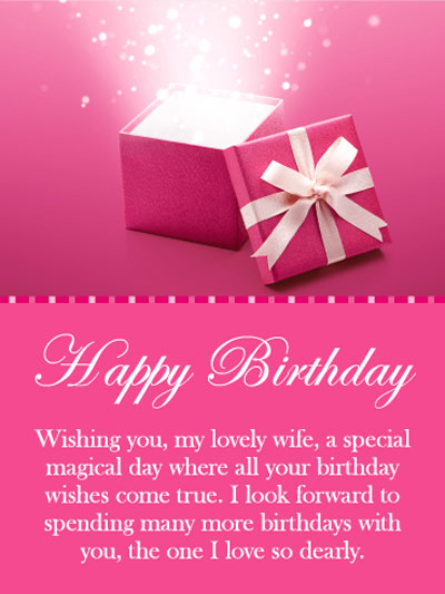 Best Birthday Quotes | Wishes | Messages and Images for Cute Wife