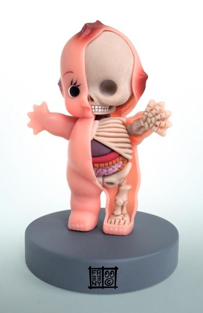 dissected kewpie doll