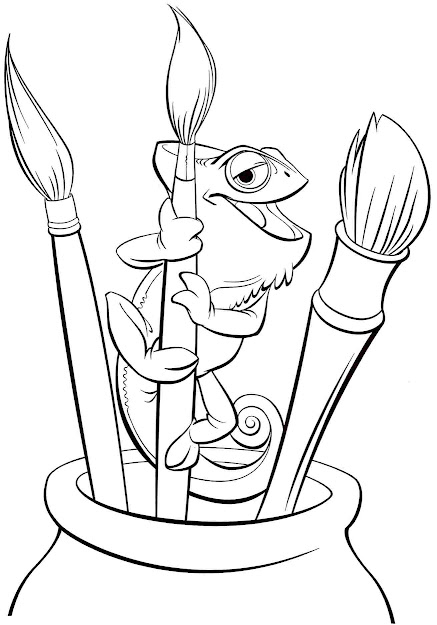 Disney Animal Coloring Pages