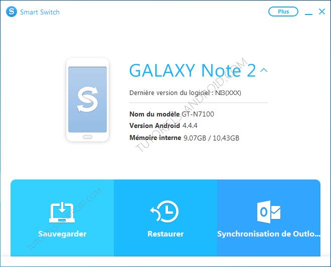 Smart Switch : mobile connecté