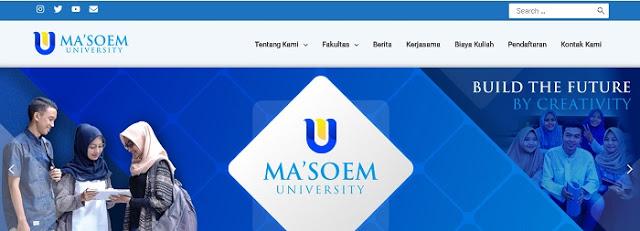 Ma'soem University Bandung - Blog Mas Hendra