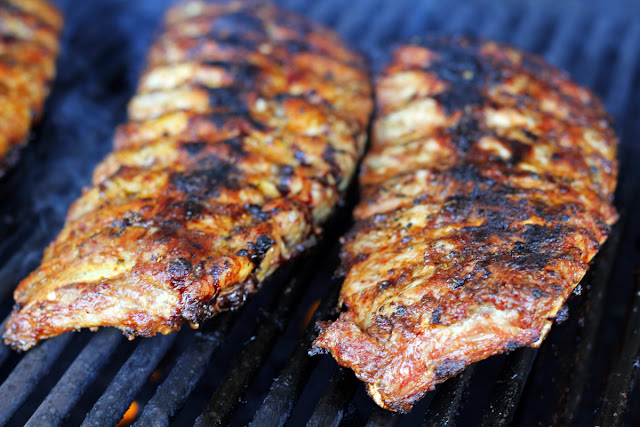 Χοιρινά Παϊδάκια με Σάλτσα Μπάμπεκιου / Spare Ribs with BBQ Sauce