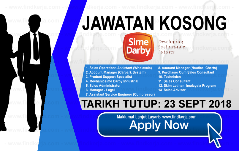 Jawatan Kerja Kosong Sime Darby Holdings Berhad logo www.ohjob.info www.findkerja.com september 2018