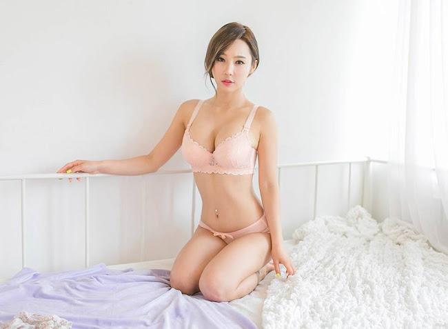 Lee Ji Na, Hot Girl Hàn Quốc Diện Bikini Cực Xinh