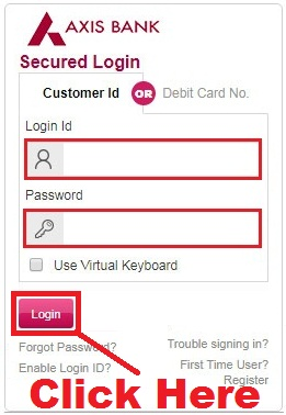 how to transfer axis bank account from one branch to another