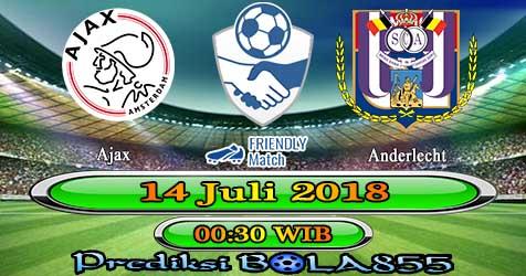 Prediksi Bola855 Ajax vs Anderlecht 14 Juli 2018