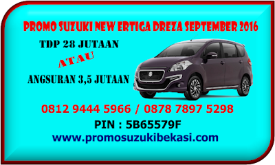 PROMO SUZUKI NEW ERTIGA DREZA SEPTEMBER 2016