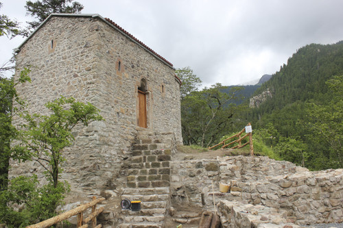 Sumela Monastery's Hagia Varvara Church restored for tourism