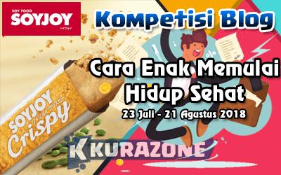 Kompetisi Blog - SOYJOY Crispy Berhadiah Jutaan Rupiah + Voucher + Hampers