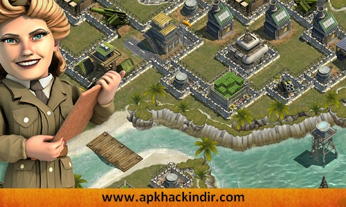 battle islands hile apk