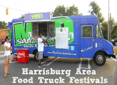 Harrisburg Area Food Truck Festivals and Events in Pennsylvania