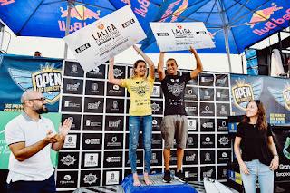 SURF - Melania Suárez y Yael Peña se coronan en la segunda edición del Open LPA Surf City 2018