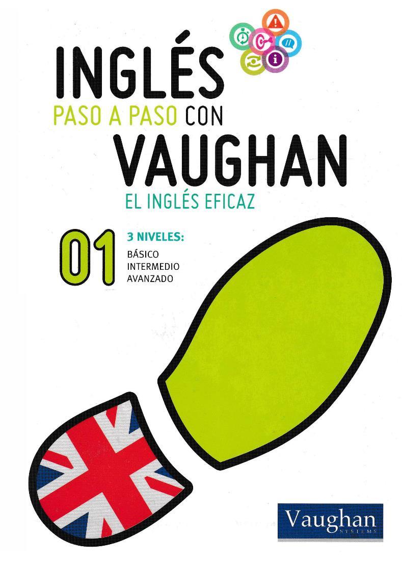 Inglés paso a paso con Vaughan 01 [Libro + Audio]